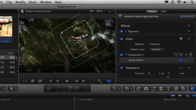 Final cut pro x video tutorial: keyboard shortcuts for color.