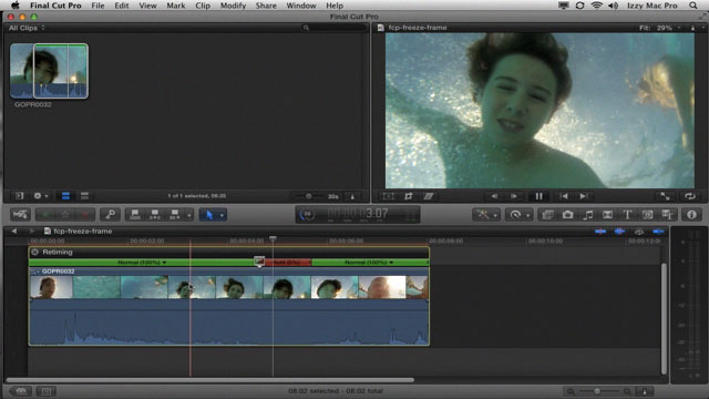 Freeze Frame Tutorial for Final Cut Pro X - Izzy Video 200 • Izzy Video